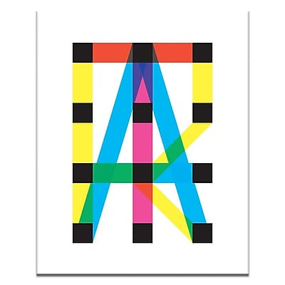 Artist Lane Structure by Ayarti Framed Graphic Art on Wrapped Canvas; 40'' H x 30'' W x 1.5'' D
