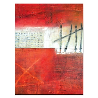 Artist Lane Time and Again #5 by Katherine Boland Painting Print on Wrapped Canvas