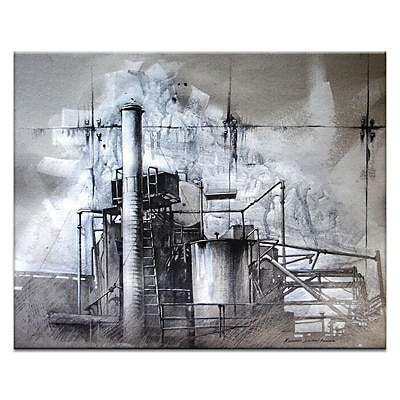 Artist Lane All In Order by Olena Kosenko Framed Painting Print on Wrapped Canvas