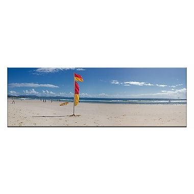 Artist Lane Byron Bay Bliss by Andrew Brown Framed Photographic Print on Wrapped Canvas