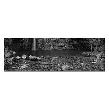 Artist Lane Emma Gorge by Andrew Brown Framed Photographic Print on Wrapped Canvas in Gray