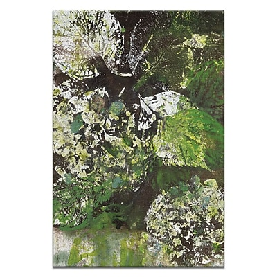 Artist Lane Autumn by Sally Adams Painting Print on Wrapped Canvas; 60'' H x 40'' W x 1.5'' D