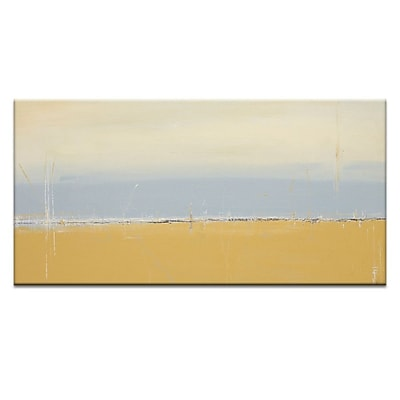 Artist Lane Serene by Patricia Baliviera Painting Print on Wrapped Canvas; 12'' H x 24'' W x 1.5'' D