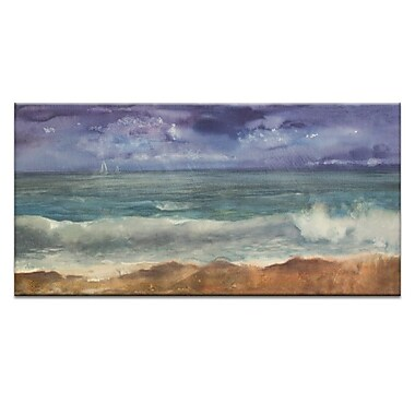 Artist Lane Squall by Jennifer Webb Painting Print on Wrapped Canvas; 30'' H x 60'' W x 1.5'' D