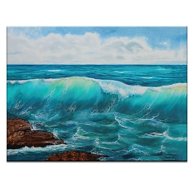 Artist Lane Rolling in by Jennifer Webb Framed Painting Print on Wrapped Canvas