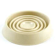 Shepherd 1.75'' Cushioned Rubber Round Caster Cups (Set of 4)