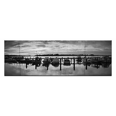 Artist Lane Sailors Warning by Andrew Brown Photographic Print on Canvas in Black