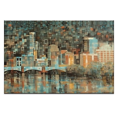 Artist Lane Yarra View by Jennifer Webb Graphic Art on Wrapped Canvas; 40'' H x 60'' W x 1.5'' D