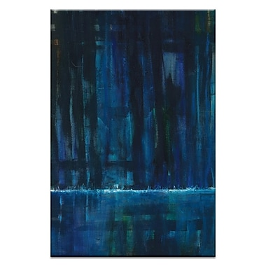 Artist Lane Waterfall 2 by Patricia Baliviera Painting Print on Wrapped Canvas