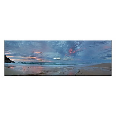 Artist Lane Sunrise Beach by Andrew Brown Photographic Print on Wrapped Canvas