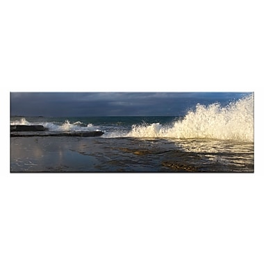 Artist Lane Angourie Swell by Andrew Brown Framed Photographic Print on Wrapped Canvas