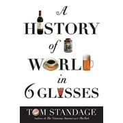 """St. Martin's Press """"History of the World in 6 Glasses"""" Paperback Book"""