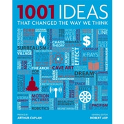 """POCKET BOOKS """"1001 Ideas: That Changed the Way We Think"""" Hardcover Book"""