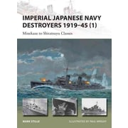 """OSPREY PUB CO """"Imperial Japanese Navy Destroyers 1919-45 (1)"""" Book"""