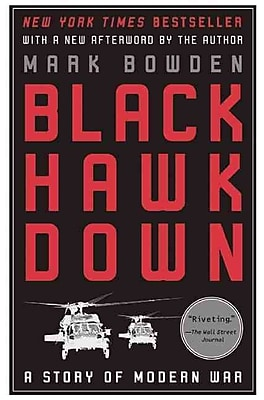 "PGW® ""Black Hawk Down: A Story of Modern War"" Paperback Book"
