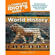"ALPHA BOOKS® ""The Complete Idiot's Guide to World History"" Paperback Book"