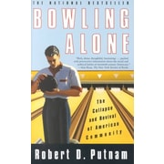 """Simon & Schuster """"Bowling Alone"""" Book"""