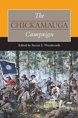 "Southern Illinois University Press """"The Chickamauga Campaign"""" Hardcover Book"