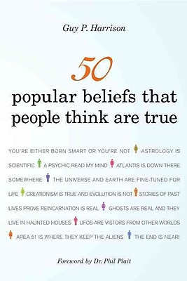 """Random House """"50 Popular Beliefs That People Think Are True"""" Book"""