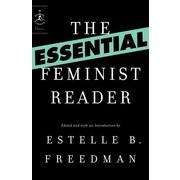 "Random House ""The Essential Feminist Reader"" Book"