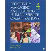 "Sage ""Effectively Managing and Leading Human Service Organizations"" Book"