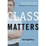 """HENRY HOLT & CO """"Class Matters"""" Book"""
