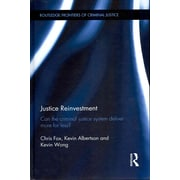 """TAYLOR & FRANCIS """"Justice Reinvestment"""" Book"""
