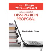 "Sage ""How to Design, Write, and Present a Successful Dissertation Proposal"" Book"