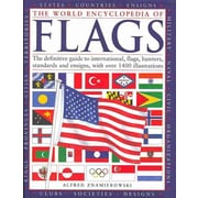 """National Book Network """"The World Encyclopaedia of Flags"""" Hardcover Book"""