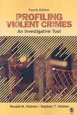"""""""""""Sage """"""""""""""""Profiling Violent Crimes"""""""""""""""" Book"""""""""""" 1252410"""