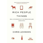 "CONSORTIUM BOOK SALES & DIST ""Rich People Things"" Book"