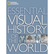 "Random House ""National Geographic Essential Visual History of the World"" Book"