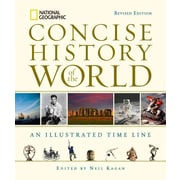 "Random House ""National Geographic Concise History of the World"" Book"