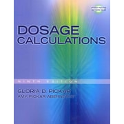 "CENGAGE LEARNING® ""Dosage Calculations"" Book"