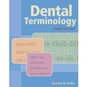 "CENGAGE LEARNING® ""Dental Terminology"" Book"
