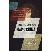 """St. Martin's Press """"Mr. Selden's Map of China: Decoding the Secrets of a Vanished.."""" Hardcover Book"""