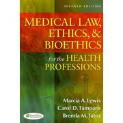 "F. A. Davis Company ""Medical Law, Ethics, & Bioethics For The Health Professions"" Book"