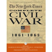 """BLACK DOG & LEVENTHAL PUB """"The New York Times Complete Civil War, 1861-1865"""" Hardcover Book"""