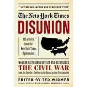 "BLACK DOG & LEVENTHAL PUB ""The New York Times: Disunion"" Hardcover Book"