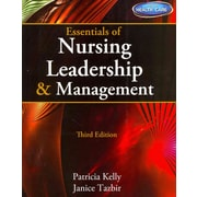 "CENGAGE LEARNING® ""Essentials of Nursing Leadership & Management"" Book"