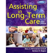 """CENGAGE LEARNING® """"Assisting In Long-Term Care"""" Book"""