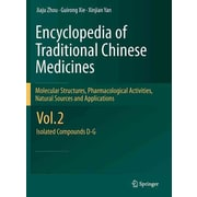 "Springer ""Encyclopaedia of Traditional Chinese Medicines"" Vol. 2 Book"