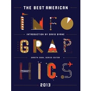 "Houghton Mifflin Harcourt ""The Best American Infographics 2013"" Book"