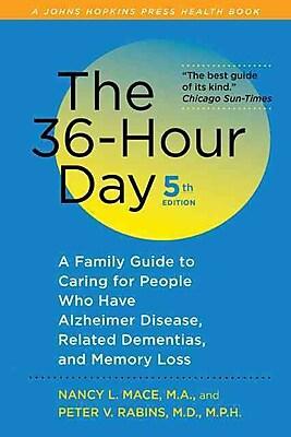 """JOHNS HOPKINS UNIV PR """"The 36-Hour Day"""" Book"""