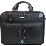 "Mobile Edge ScanFast DuPont Sorona Checkpoint Friendly Briefcase 2.0 F/16"" Laptop/17"" MacBook, Black."