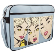 """Urban Factory Nice Lady's Vintage Bag For 16"""" Notebook, Blue"""