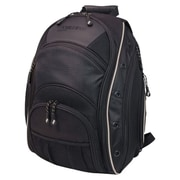 "Mobile Edge EVO Backpack With Reflective Trim 16"" Laptop & 17"" MacBook, Black/Silver."