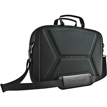 "Mobile Edge Alienware Vindicator Nylon Briefcase For 14"" Laptop, Black."