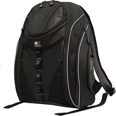 """""Mobile Edge Sumo Express Backpack 2.0 For 17"""""""" MacBook, Black/Silver."""""" IM12LV227"