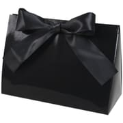 "Purse Style 8"" x 3 1/2"" x 5 1/2"" Gift Box, Black Gloss"